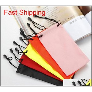 Wholesale water eyeglasses for sale - Group buy Waterproof Pouch Soft Eyeglasses Plastic Bag Sunglasses Case Bags Water Proof Cloth Mobile Phone Bag Jewelry Storage Bag Popular R0L9C