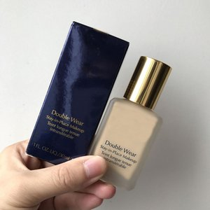 ingrosso fondamento liquido impermeabile-Brand Makeup Foundation Double Wear Wear ml Foundation Liquid W1 Bone W2 sabbia colori idratante Concettoreer impermeabile