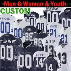 Wholesale dalton jersey for sale - Group buy 13 Michael Gallup Jersey Andy Dalton Zack Martin Roger Staubach DeMarcus Lawrence Troy Aikman Custom Men Youth Women Football Jerseys
