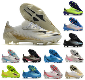 2021 New X Ghosted.1 Precision to Blur FG Mens Women Boys Ghosted .1 Lace-Up Soccer Football Shoes Soccer Boots Soccer Cleats Size US 6.5-11