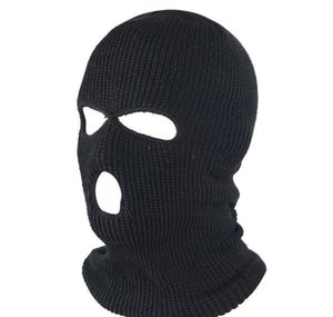 Wholesale full face ski mask for sale - Group buy Pure Color Full Face Cover Mask Hole Balaclava Knit Winter Ski Cycling Mask Warmer Scarf Outdoor Fa bbyXTI alice_bag