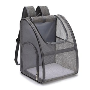 Wholesale mesh backpacks resale online - Pet Dog Carrier Backpack Mesh Ventilation Bag Pouch with Breathable Windows