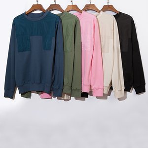 Mens High Quality Solid Color Sweatshirt Mens Fashion Stylist Hoodies Men Women Couples Hip Hop Pullover Long Sleeves Size M-2XL