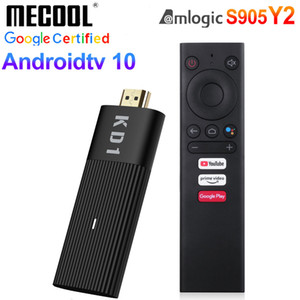 boîte dongle achat en gros de-news_sitemap_homeMecool KD1 Android TV Stick AMLOGIC S905Y2 Quad Core Boîte TV Android10 G G WiFi Bluetooth Smart Dongle Google Voice Remote G16G