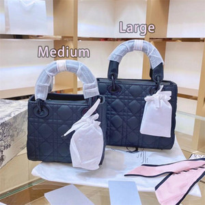 Wholesale christmas beads for sale - Group buy 2021 NEW Designer Luxury Handbags Purses Women Shoulder bag Genuine Leather with Fabric Cross Body Saddle Handbag High Quality Bag HOT A
