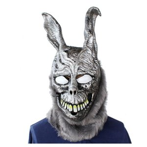 ingrosso donnie darko maschera-X Merry Toy Movie Donnie Darko Frank Mask Halloween Horror Party Costume Cosplay Props