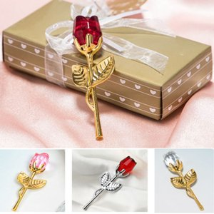 ingrosso negozi cristalli-Regali di San Valentino Regali di San Valentino Golden Rose Flower con Box Monther Day Wedding Birthday Complew Promotion Shop festeggia il regalo GWD4460