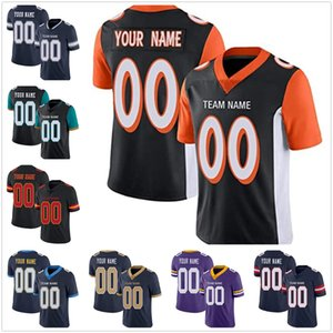 Wholesale game for football for sale - Group buy Personalized Custom Black Mesh Football Game Jersey Design Your Own Team Name Number for Men Women Youth Adult Boys Birthday Gift Authentic