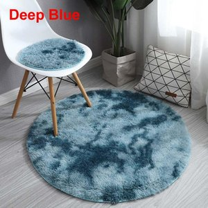 Wholesale style seats resale online - 2 Style Fluffy Rugs Chair Cover MultiColors Warm Hairy Wool Carpet Seat Pad Plain Soft Area Rugs Home Cloakroom Decor Washable