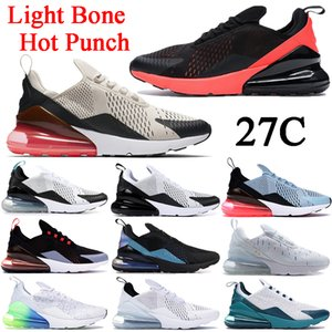 New 27C running shoes dusty cactus Light Bone Hot Punch triple black white metallic gold Bred regency purple men women sneakers trainers
