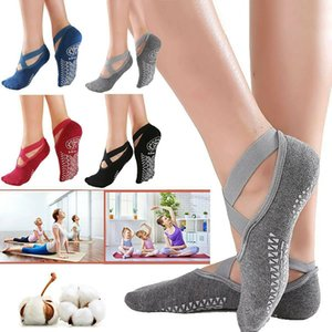 Wholesale yoga toe for sale - Group buy Women s Anti Slip Fitness Dance Pilates Socks Professional Indoor Yoga Five Toe Backless Exercise Ballet Lady Training Accessory CCA12633