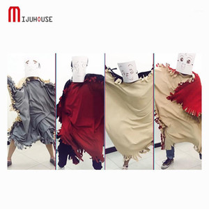 Wholesale polar fleece fabrics resale online - Polar Fleece Fabric Crazy Blanket Home Dance Sleeping Bag Uses Blankets Multifunctional Cloak Creative Personality Blanket1