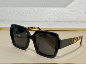 Wholesale sunglasses grading resale online - 21 new trendy fashion sunglasses with high grade plate with metal square frame trend fashion style bee series top quality comes with case