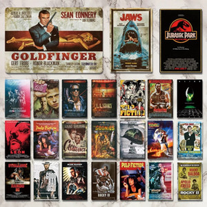 Wholesale metal tin sign pub resale online - 2021 Classic Movie Metal Sign Metal Poster Tin Sign Plaque Metal Vintage Wall Decor for Bar Pub Club Man Cave Leon Signs Beer Drink Water
