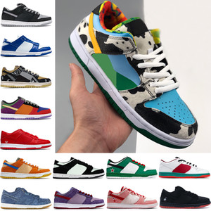 melhor basquete cor venda por atacado-2021 Novos Melhores Homens Basquetebol Sapatos Chunky Dunky Travis Scotts Sombra Kentucky Multi Cor Low Mens Trainers Mulheres Sneakers US