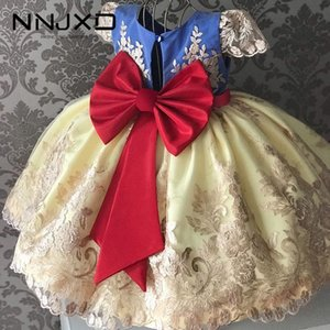 Wholesale new kids evening gown for sale - Group buy 4 Yrs Fancy Baby Girls Dress New Year Party Evening Gowns Elegant Princess Dress Ball Gowns Wedding Kids Dresses For Girls F1130