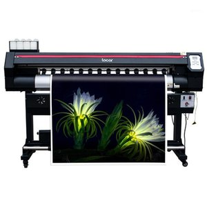 Wholesale banner graphics for sale - Group buy 1 M Inkjet Flex Banner Printer Machine Printhead Big Window Graphic Printing Machine Ft Vinyl Sticker Printer For Sale1