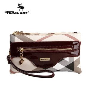 Wholesale new design handbags clutches for sale - Group buy women handbags fashion striped bag famous brand day clutches High Quality Purse New Design Handbag Q1117