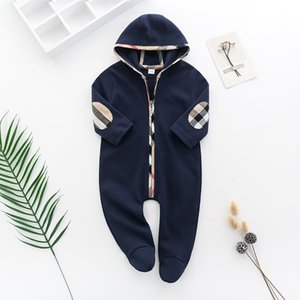 Wholesale white unisex baby clothes for sale - Group buy New Baby Rompers Spring Autumn Baby Boy girls Clothes New Romper Cotton Newborn Baby Girls Kids Designer cartoon Infant Jumpsuits Clothing