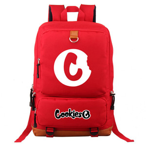 Wholesale laptop backpacks resale online - Cookies Mens Backpack Unisex Travel Sports Fashion School Bags Student College Dropshipping Cute Teens Laptop Rucksack Knapsack C0121