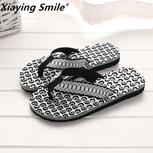 Wholesale fit flops for sale - Group buy British style shoes Cool Flip Flops for loose fitting beach slippers rubber flip flops men sandals Non slip T200408