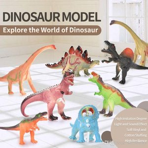 Wholesale small dinosaurs resale online - World Novelty Simulated Dinosaur Blocks Small Toys Toy Kids Park Animal Children Size Model Puzzle Jurassic Games Hnaea