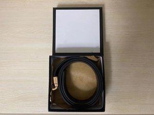 Beautiful fashion belts wholesale Simple mens belts High quality womens belt Leather belt Width 3.4cm Mens designer belt