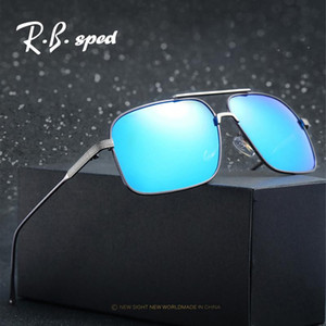 Wholesale clout goggles resale online - Alloy frame HD Polarized Mens Sunglasses Men Designer clout goggles Sun Glasses Leisure Glasses gafas de sol hombre