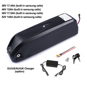 Wholesale electric hubs for sale - Group buy Electric Bike Battery Pack V Ah V Ah Ah V Ah built in Samsung Cells Hub Mid Drive Bicycle Battery