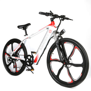 Wholesale 26 bikes resale online - 26 quot Adults Electric Bicycle Electric Mountain Bike W with Removable V Ah Battery Full Throttle Pedal Assist City Ebike