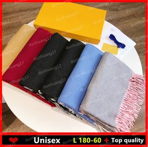 The latest fashion elements in Europe and America New double-sided color cashmere scarf fashion men's and women's style high quali
