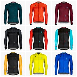 GOBIK Team Mens Cycling Jersey Mtb Bike shirt Ropa Ciclismo Long sleeves Bicycle Clothes Outdoor sports uniform bicycling clothes 102120