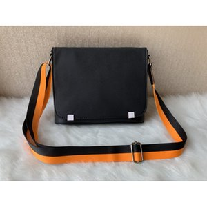 Wholesale men's cross body resale online - Men s briefcase Business shoulder bag Cross Body famous fashion Work package messenger bags classic with dust school bookbag A variety of styles