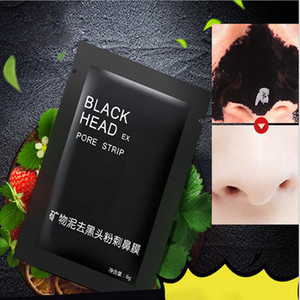 NEW Suction Black Mask Face Care Mask Cleaning Tearing Style Pore Strip Deep Cleansing Nose Acne Blackhead Facial Mask Remove Black Head