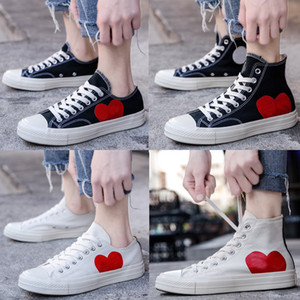 Wholesale big eyes for sale - Group buy New s Big Eyes Play Chuck Multi Heart s Hi Canvas Skate Shoes Classic trainers Jointly Name skateboard Casual Sneakers