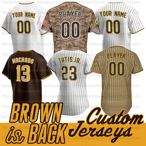 San Diego Fernando Tatis Jr Jersey Manny Machado Darvish Tony Gwynn SNELL Musgrove Eric Hosmer Brown Is Back Jerseys