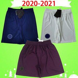 2020 2021 soccer shorts 20 21 third purple home blue away white paris football pants maillots de foot MBAPPE CAVANI