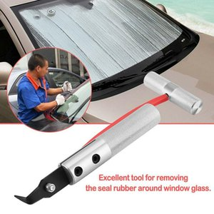 Wholesale car windshield repair resale online - Universal Window Seal Remover Car Windshield Removal Tool Window Glass Seal Rubber Removal Repair Hand Tool Car Accessories