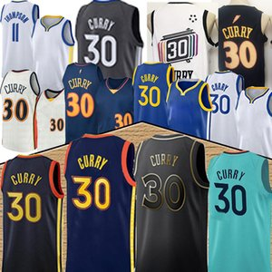 ingrosso basket di guerrieri-nba Golden State Warriors Stephen Curry Klay Thompson Nba basketball jersey men basketball jerseys hot sell