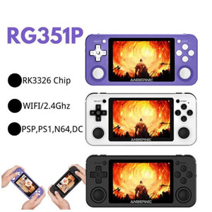 retro-quelle großhandel-Anbernisch R351P i NCH IPS Handheld Retro Game Console RK3326 Open Source D Rocker G PS NEO MD Video Music Player