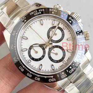 Fashion Ceramic bezel Bracelet Mens luxury Mechanical Stainless Steel 2813 Automatic Movement Men Watch Sport Watches Wristwatches designer