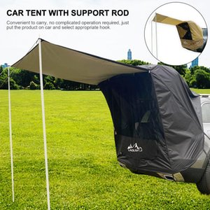 Wholesale rod supports resale online - Car Truck Tent Sunshade Rainproof With Support Rod Anti UV Tent Side Awning SUV MPV Car For Outdoor Self driving Tour