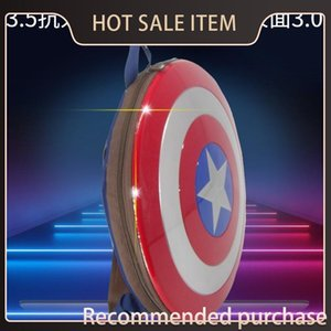 Wholesale captain american shield resale online - Primary Anniversary And Film Captain For Shield th Schoolbag Backpack USA For Middle School Students Computer Of Teenagers Backpack Deopu