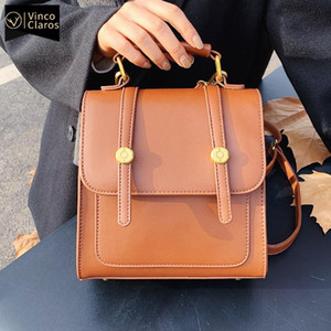 Wholesale cute back packs resale online - Luxury Mini Backpack Purse for Women Designer Leather Fashion Small Cute Back Pack In cm Travel Vintage Designer Bag Mochila