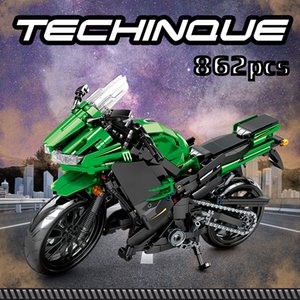 Wholesale children motorcycle for sale - Group buy SEMBO Creator City Off road Motorbike Model Building Blocks Technic Racing Car Motorcycle Educational Gifts Toys For Children