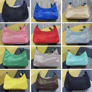 1BH204 luxurys nylon hobo crossbody bags messenger handbags shoulder Bag for women classic designers purse zipper fashion woman chest chain tote key wallet