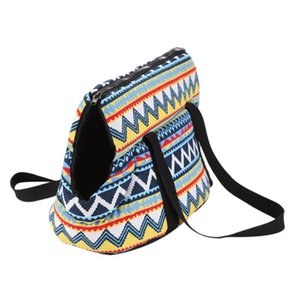 Wholesale cat head bag handbag resale online - Retro Pet Carrier Bag Handbags Puppy Cat Dog Tote Bag Head Out Portable Outdoor Travel Carrying Shoulder pet supplies