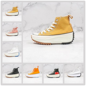 Wholesale hi shoes resale online - With box Preferential Casual Shoes Hi Black White Gum Womens schuhe Classics Anderson Chuck Hike Vulcanized size