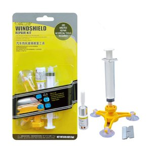 Wholesale car windshield repair resale online - Car Windshield Repair Kit Quick Fix Car Cracked Glass Windscreen Repair Tool Resin Sealer Adhesives Window Screen Polishing