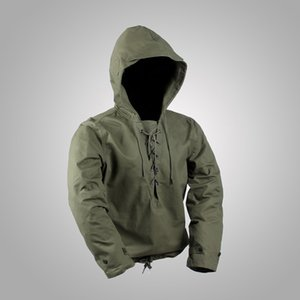 mec humide achat en gros de-news_sitemap_homeUSN Wet Weather Parka Navy Ww2 Deck Military Coton Coton Vestes Vintage Man s Manteau Ausp